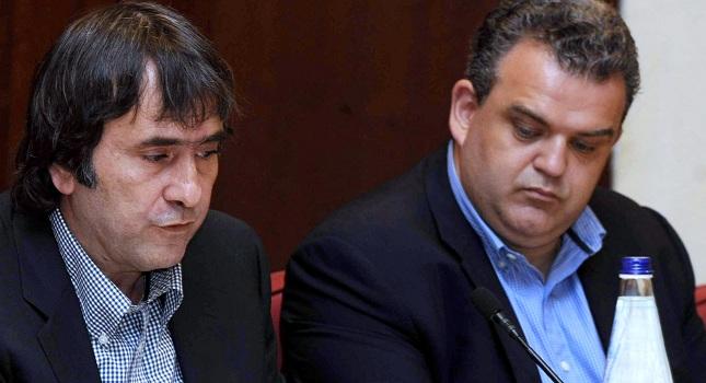 Συνελήφθησαν Αθανασιάδης και Ζαμπέτας