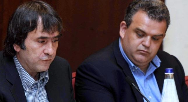 Αφέθηκαν ελεύθεροι Αθανασιάδης, Ζαμπέτας