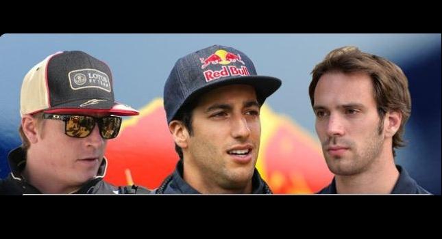 Οι τρεις... μνηστήρες της Red Bull