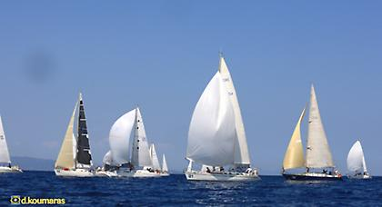 Cyclades Regatta 2013: Μέρος 1ο