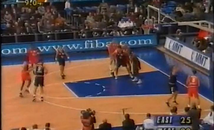 Όλα τα αστέρια του μπάσκετ μαζί (video)