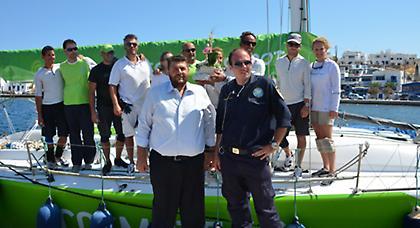 Το ταξίδι του Cyclades Regatta 2013 συνεχίζεται