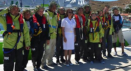 Άρωμα γυναίκας για το Cyclades Regatta 2013