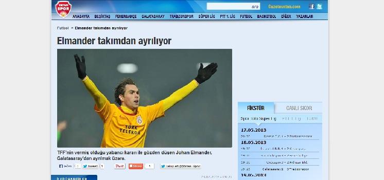 «Φεύγει ο Ελμάντερ, διαφορά με Ολυμπιακό»