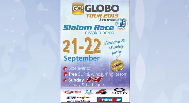 Θεαματικό windsurfing στο GO!GLOBO Tour!