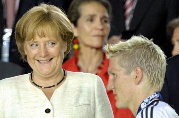 Η Μέρκελ είδε τον Σβαϊνστάιγκερ γυμνό!