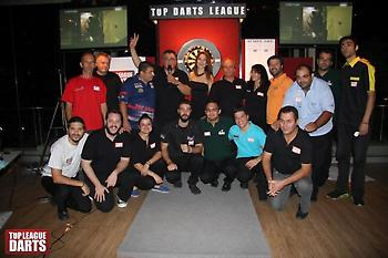 H 1η αγωνιστική του Top Darts League