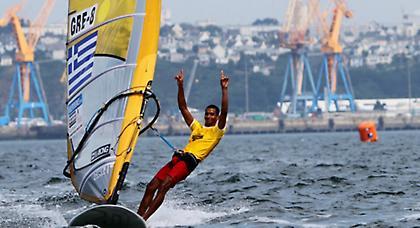Πρωταθλητής Ελλάδας RS:X ο Βύρωνας Κοκκαλάνης