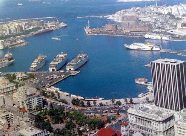 Дорога из афин к морскому порту