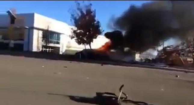 Σοκάρει το βίντεο με το αμάξι που επέβαινε ο Γουόκερ