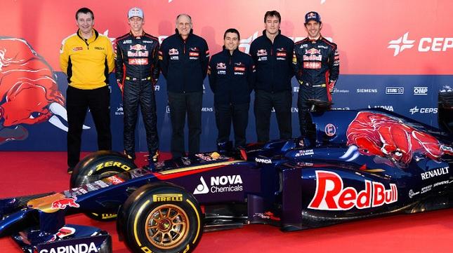 Ιδού η νέα Toro Rosso