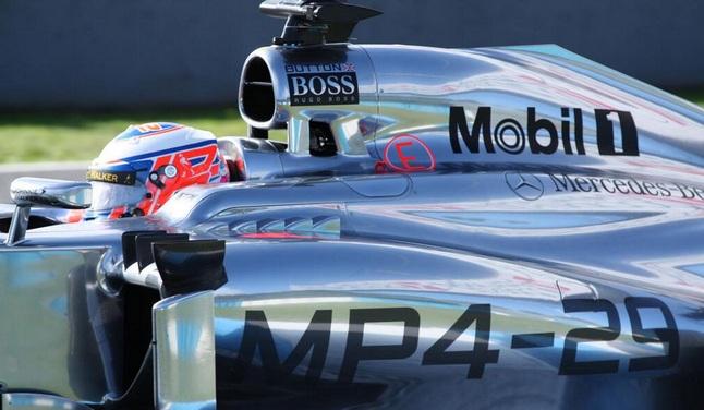 Δυνατό «μπάσιμο» για McLaren