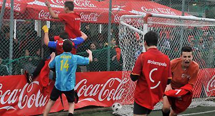 Κρύο, καιρός για ... Coca-Cola Cup!