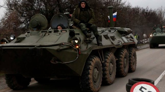Ο Πούτιν ξεκινά τον πόλεμο στην Ουκρανία