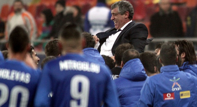 «Καλή επιτυχία» και «obrigado» Φερνάντο