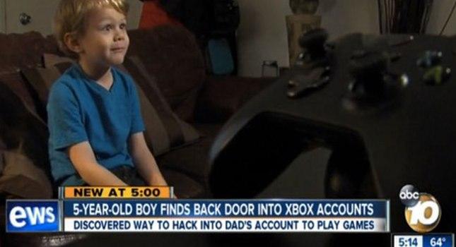 Ο 5χρονος που έσπασε το σύστημα ασφαλείας του Xbox