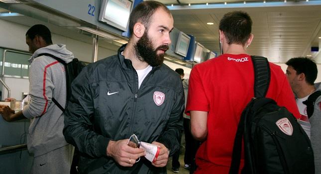 Έφτασε στη Μαδρίτη ο Ολυμπιακός