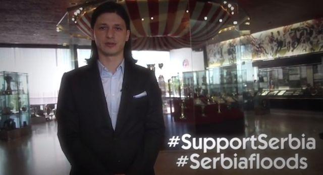 Έκκληση Πάντελιτς για βοήθεια στη Σερβία στα ελληνικά (video)