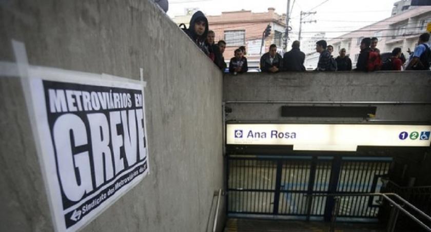 Βραζιλία: Απεργίες και διαδηλώσεις στο Μετρό (vid)
