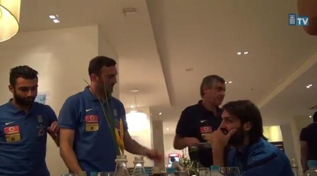 Γιορτάζει και κάνει τον σερβι-«Τόρο»- (video)
