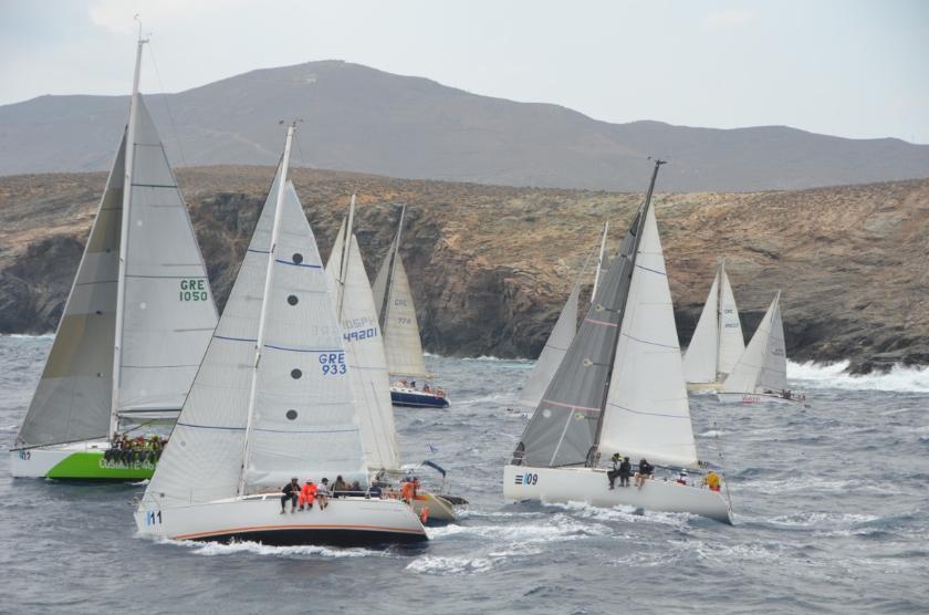 Εν αναμονή του επετειακού 20ου  Διεθνούς  Ιστιοπλοϊκού Αγώνα «Cyclades Regatta 2014»