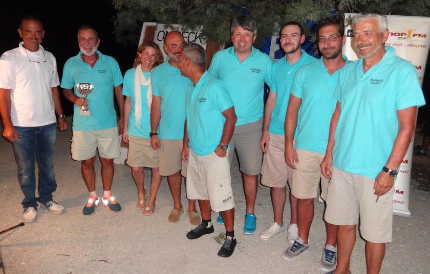 Παράκτια διαδρομή & απονομή στην Ιερή Νήσο Μήλο για το Cyclades Regatta 2014 του Ν.Ο.Τ.Κ.