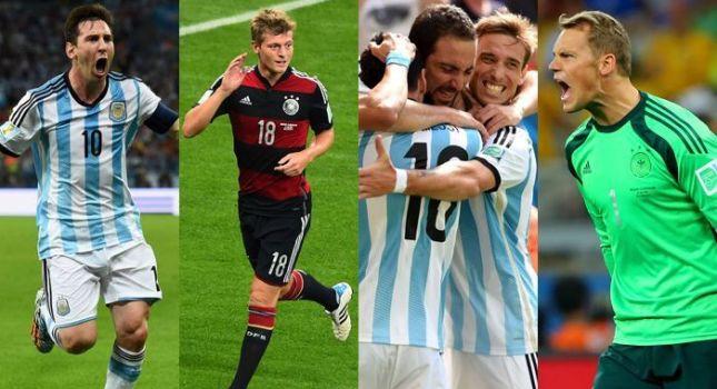 Οι συνθέσεις του Γερμανία-Αργεντινή