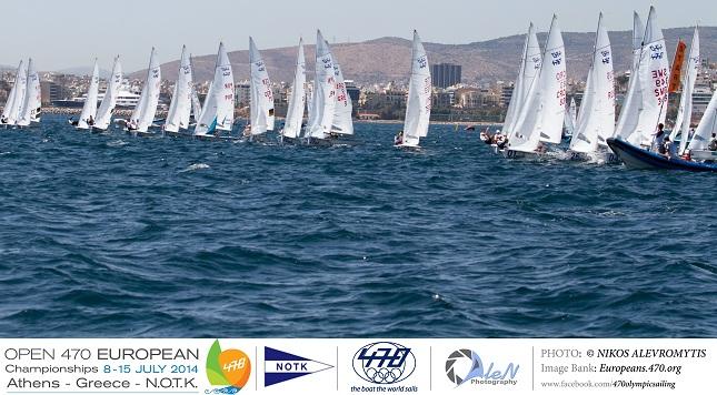 Οι Ελληνικές συμμετοχές στο Ανοιχτό Ευρωπαϊκό Πρωτάθλημα Ιστιοπλοΐας 470