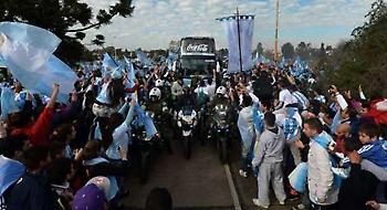 Σαν πρωταθλητές στην Αργεντινή!