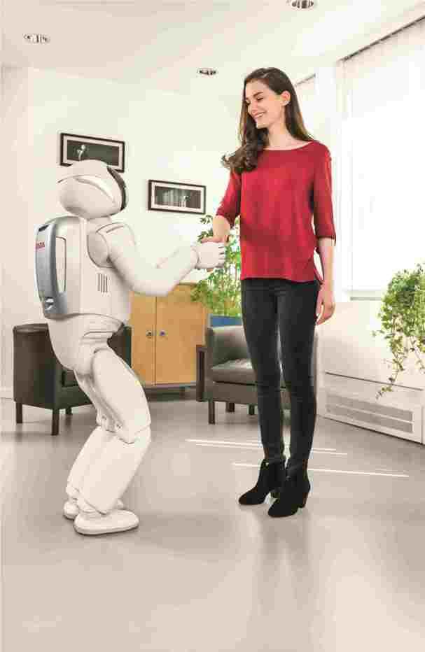 Tο πιο σύγχρονο ανθρωποειδές ρομπότ της Honda  (video)