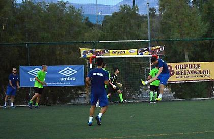 Θετικά συμπεράσματα στο πρώτο φιλικό για την Ελληνική ομάδα minifootball