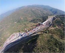 Στο τέλος του 2014 παραδίδεται η γέφυρα Τσακώνας