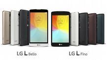 Ανακοινώθηκαν τα LG Bello και Fino