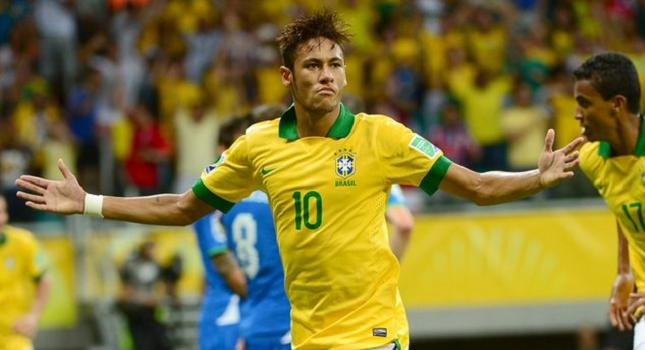 Αρχηγός της Βραζιλίας ο Νεϊμάρ