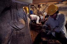 Ιδιαίτερου κάλλους οι Καρυάτιδες στον τάφο της Αμφίπολης