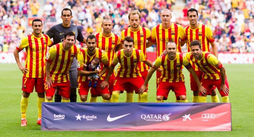 Ντυμένη… καταλανικά η Μπαρτσελόνα! (pics)
