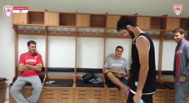 Ο Περπέρογλου υποδέχτηκε τον Ολυμπιακό (video)
