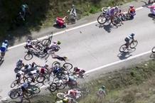 Πολλοί σοβαροί τραυματισμοί σε ποδηλατικό αγώνα (video)