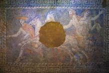 Η αρπαγή της Περσεφόνης από τον Πλούτωνα, το ψηφιδωτό στην Αμφίπολη
