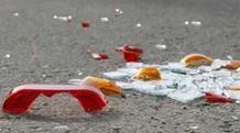 Νταλίκα στην Εθνική Οδό έπεσε σε τουλάχιστον έξι αυτοκίνητα