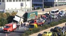 Ένας τραυματίας στο τροχαίο που σημειώθηκε στην Αθηνών-Λαμίας