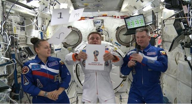 Η «διαστημική σφαίρα» του Μουντιάλ της Ρωσίας (pics-vids)