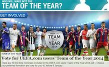 Οι υποψήφιοι για την κορυφαία ενδεκάδα της UEFA