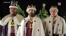 Οι «τρεις μάγοι» της Μπαρτσελόνα (video)