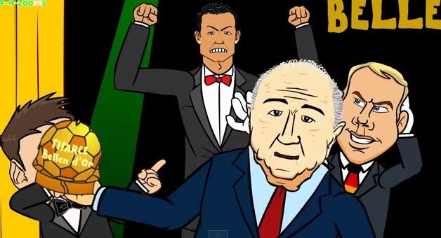 Η Χρυσή Μπάλα σε rap battle (video)