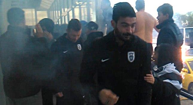 Θερμή υποδοχή για ΠΑΟΚ στη Μυτιλήνη (video)