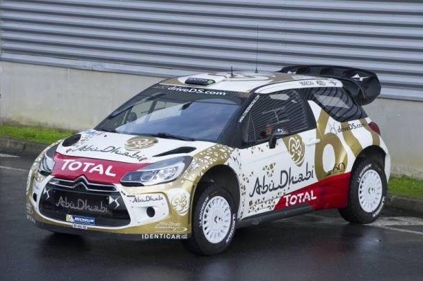 Νέα... στολή για το Citroen DS3 WRC