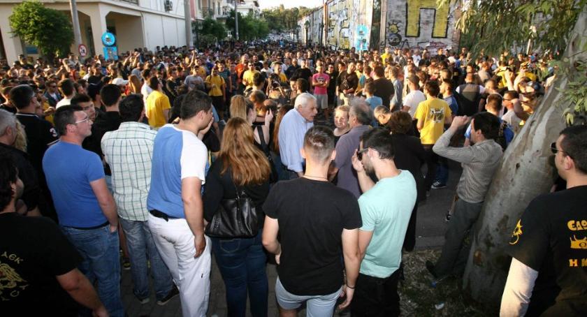 Συλλαλητήριο για το γήπεδο της ΑΕΚ!