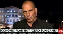 Βαρουφάκης στο CNN: Η Ελλάδα είναι αποφασισμένη να μείνει στο ευρώ