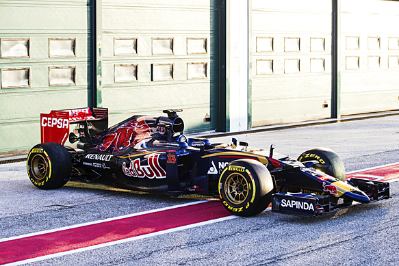 Αποκαλυπτήρια για Toro Rosso